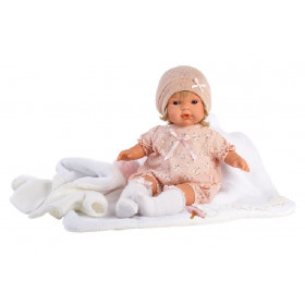 LOLA - realistická panenka se zvuky 38 cm