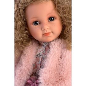 ELENA - realistická panenka s celovinylovým tělem 35 cm