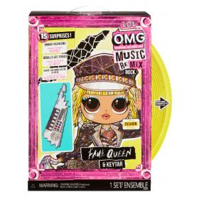Panenka L.O.L. Surprise! OMG ReMix Rock Velká ségra - Fame Queen s klávesami