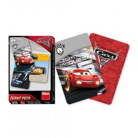 karty Černý Petr - Cars 3