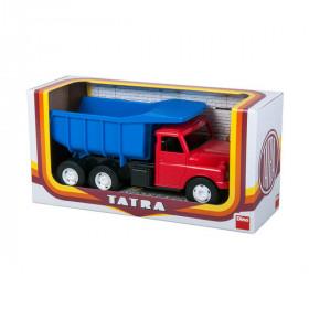 auto Tatra 148 modro-červená, plastová 30cm