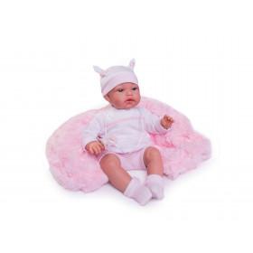 TONETA - realistická panenka miminko se zvuky 34 cm