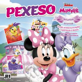 Pexeso v sešitu Minnie