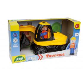 auto Truckies bagr v krabici