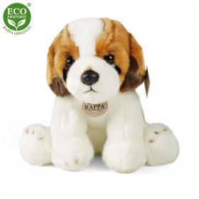 Plyšový pes bernardýn sedící 26 cm ECO-FRIENDLY