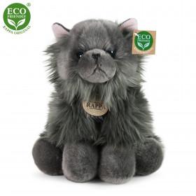 plyšová kočka britská sedící, 30 cm