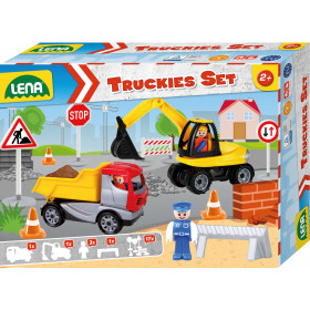 Auto Truckies set stavba