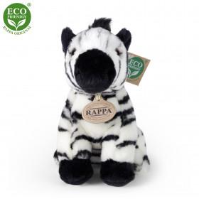 Plyšová zebra sedící 18 cm