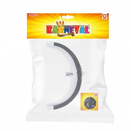 Lampion Halloween kulatý - kostlivci, 25 cm