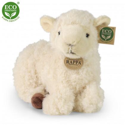 plyšová ovce ležící, 25 cm