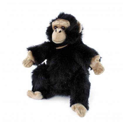 plyšová opice maňásek, 28 cm