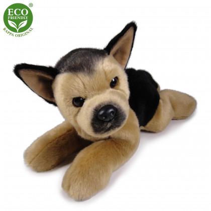 Plyšový pes německý ovčák ležící 30 cm ECO-FRIENDLY