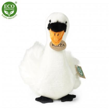 Plyšový pták labuť sedící, 23cm, ECO-FRIENDLY