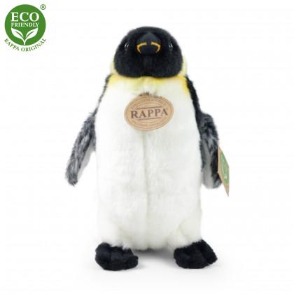 Plyšový tučňák stojící, 20 cm, ECO-FRIENDLY