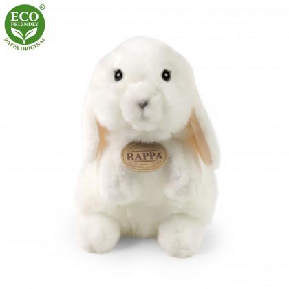 Plyšový králík bílý stojící 18 cm ECO-FRIENDLY