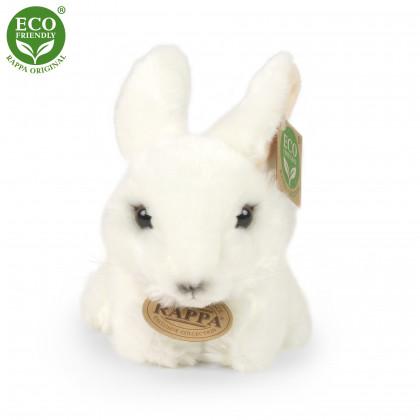 Plyšový králík bílý 16 cm ECO-FRIENDLY