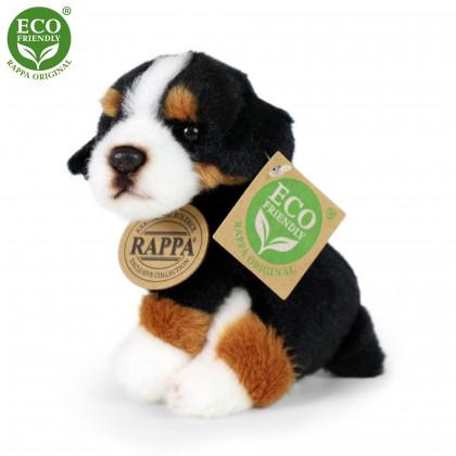 Plyšový pes sedící, 11 cm, ECO-FRIENDLY