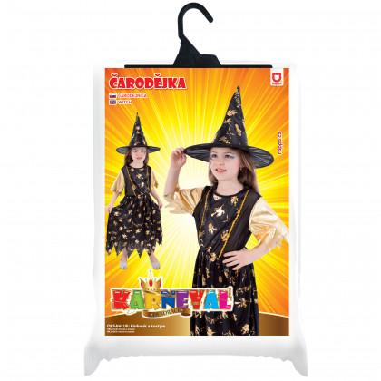 Dětský kostým Čarodějnice (M)
