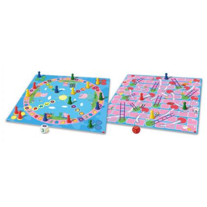 Hra Pojd si hrát a skluzavky Prasátko Peppa