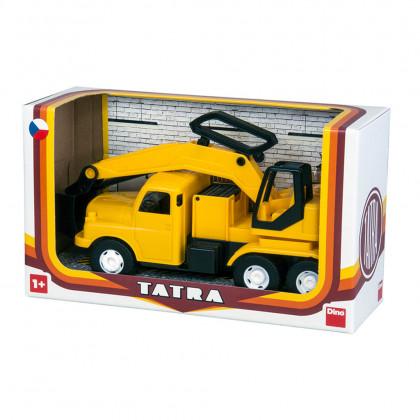 auto Tatra 148 bagr, plastová 30 cm