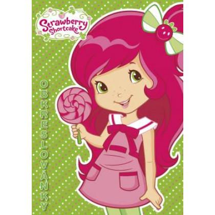 Omalovánka A5 Strawberry obkreslovánky