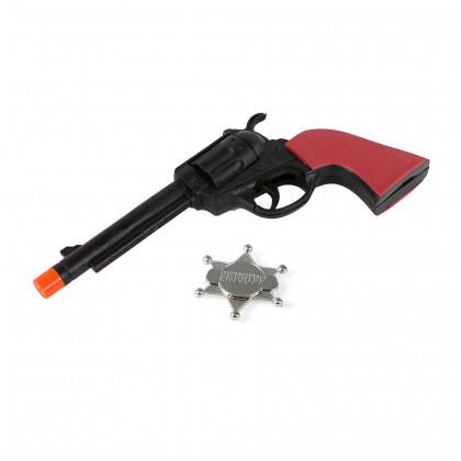 pištoľ s odznakom SHERIFF