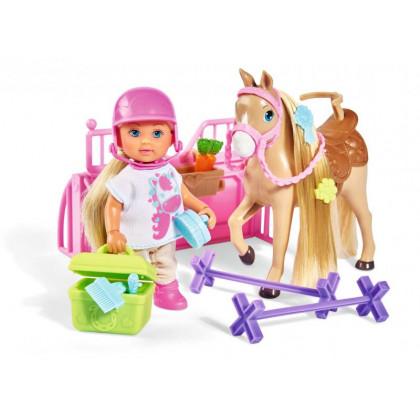 Bábika Evička s koníkom
