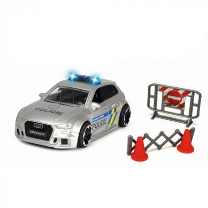 Audi RS3 polícia, česká verzia