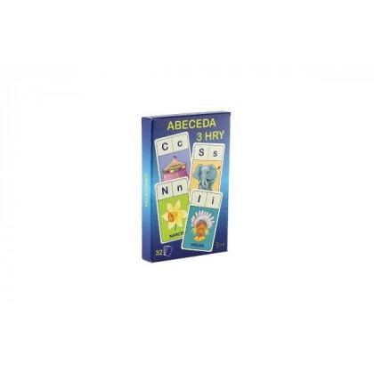 karty Abeceda, 3hry