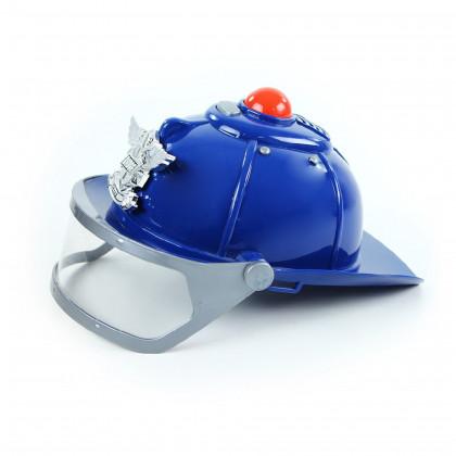 helma polícia so zvukom a svetlom