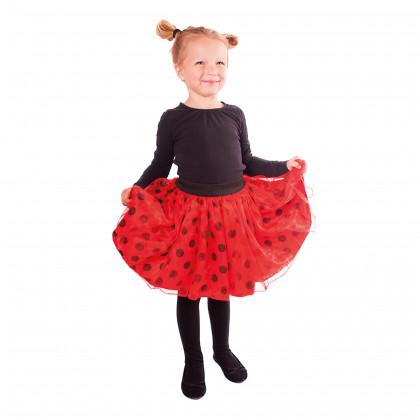 Detská sukňa tutu Lienka s bodkami