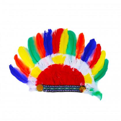 Indiánska čelenka pre dospelých