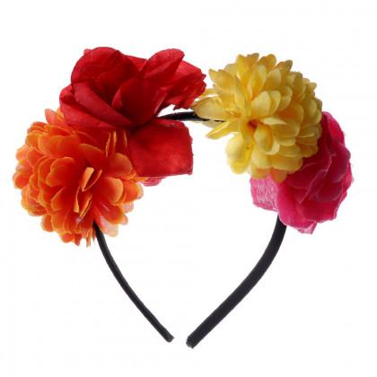 Čelenka kvetina pre dospelých