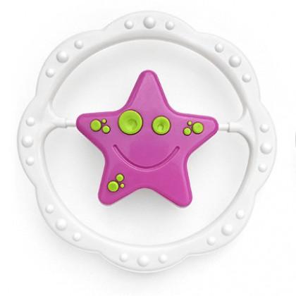 hrkálka hviezdička, kytička v kruhu