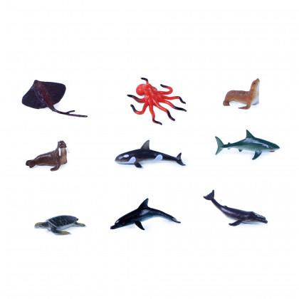 zvieratá morská, 9 ks vo vrecku