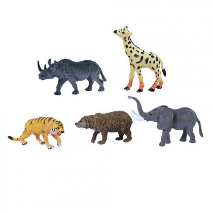 Zvieratá divoká väčšia 5 ks vo vrecku