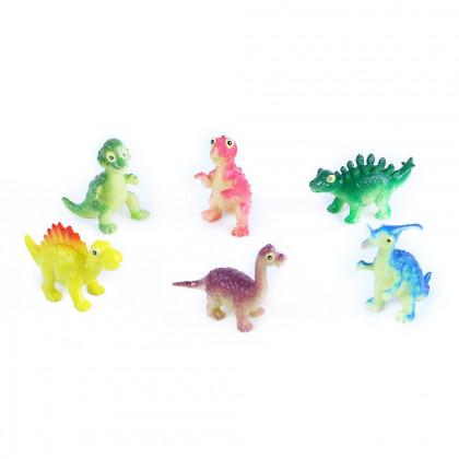 Dinosaury veselí, 6 ks vo vrecku, 2 druhy