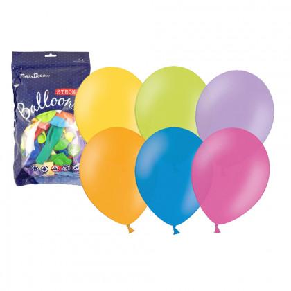 Balónik nafukovací metalický, 30 cm