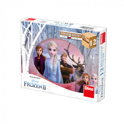 kubus FROZEN 2, 12 kociek - Ľadové kráľovstvo