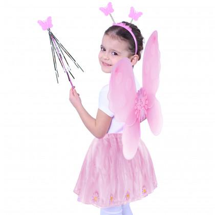 Destký kostým Kvetinka s krídlami