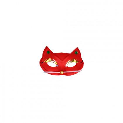 maska / škraboška mačka 3 farby