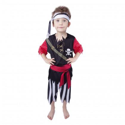 Detský kostým Pirát s šatkou (S)