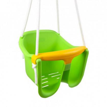 Baby hojdačka zelená pre najmenších