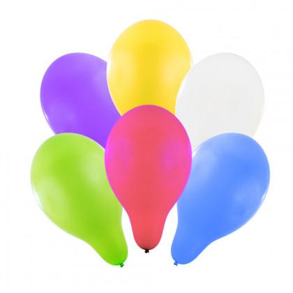 Balónik nafukovacie 30 cm, 6 ks