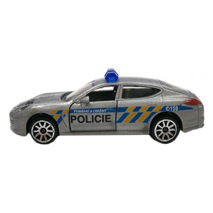 Auto policajné, kovové, česká verzia