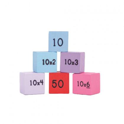 Bigjigs Toys Drevená tabuľka počítanie