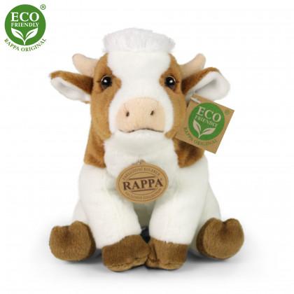 Plyšová krava 18 cm ECO-FRIENDLY