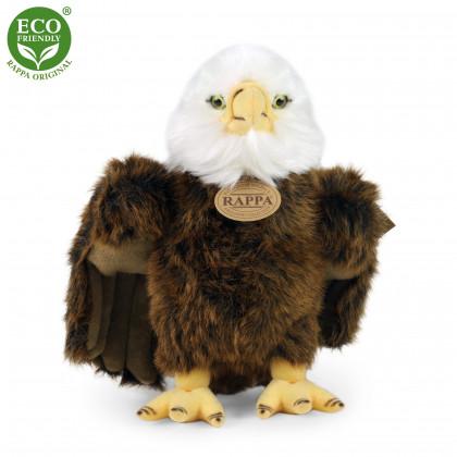 Plyšový vták orol stojaci, 24 cm, ECO-FRIENDLY