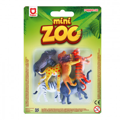 Zvieratá divoká 6 ks na blistru