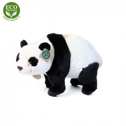 Plyšová panda stojaci 36 cm ECO-FRIENDLY